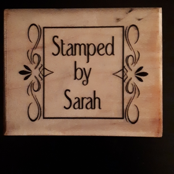 Custom Made, Rubber Stamp- Used But Perfectly Fine